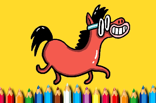 Image BTS Pony oloring Book