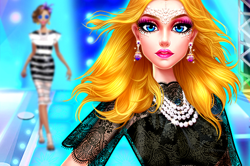 Image Supermodel Makeover Glam Dress up Make up